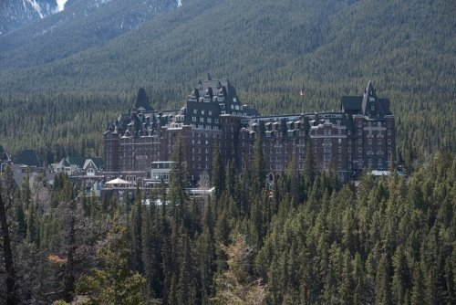 The Castle in the Rockies